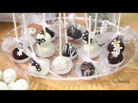 Cake Pops With Donut Holes