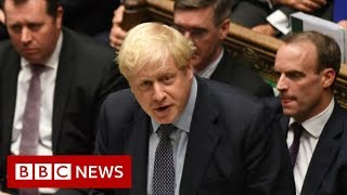 Brexit: PM sends EU unsigned request seeking Brexit delay - BBC News