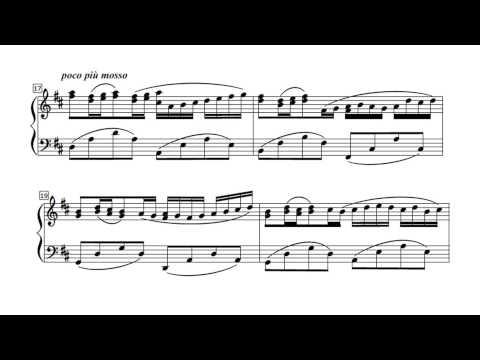 Pachelbel Canon - PIANO SOLO (arr. Galloway) P. Barton, FEURICH 218