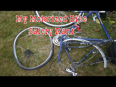 My Rant On  Motorized Bicycle Traffic Safety - Should You Ride In Traffic? thumbnail