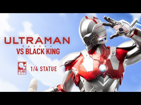 Ultraman vs Black King 1/4 Scale Statue from PureArts - Official Trailer!