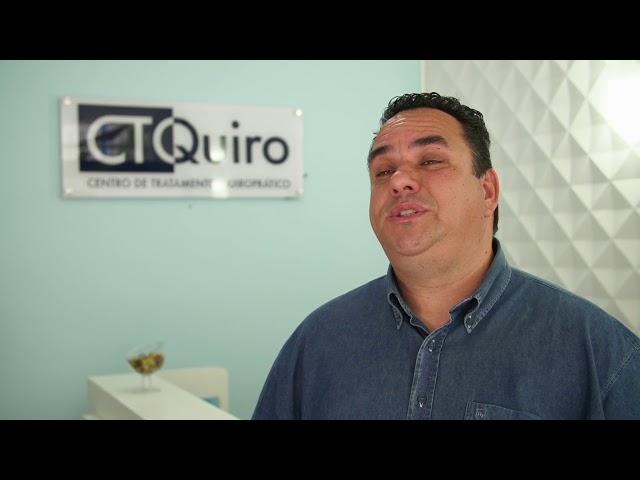 CTQuiro Depoimento Jeferson Santiago - Dores na coluna
