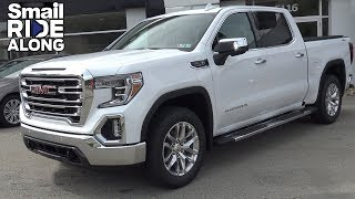 NEW 2019 GMC Sierra 1500 Crew Cab - Review and Test Drive - Smail Ride Along