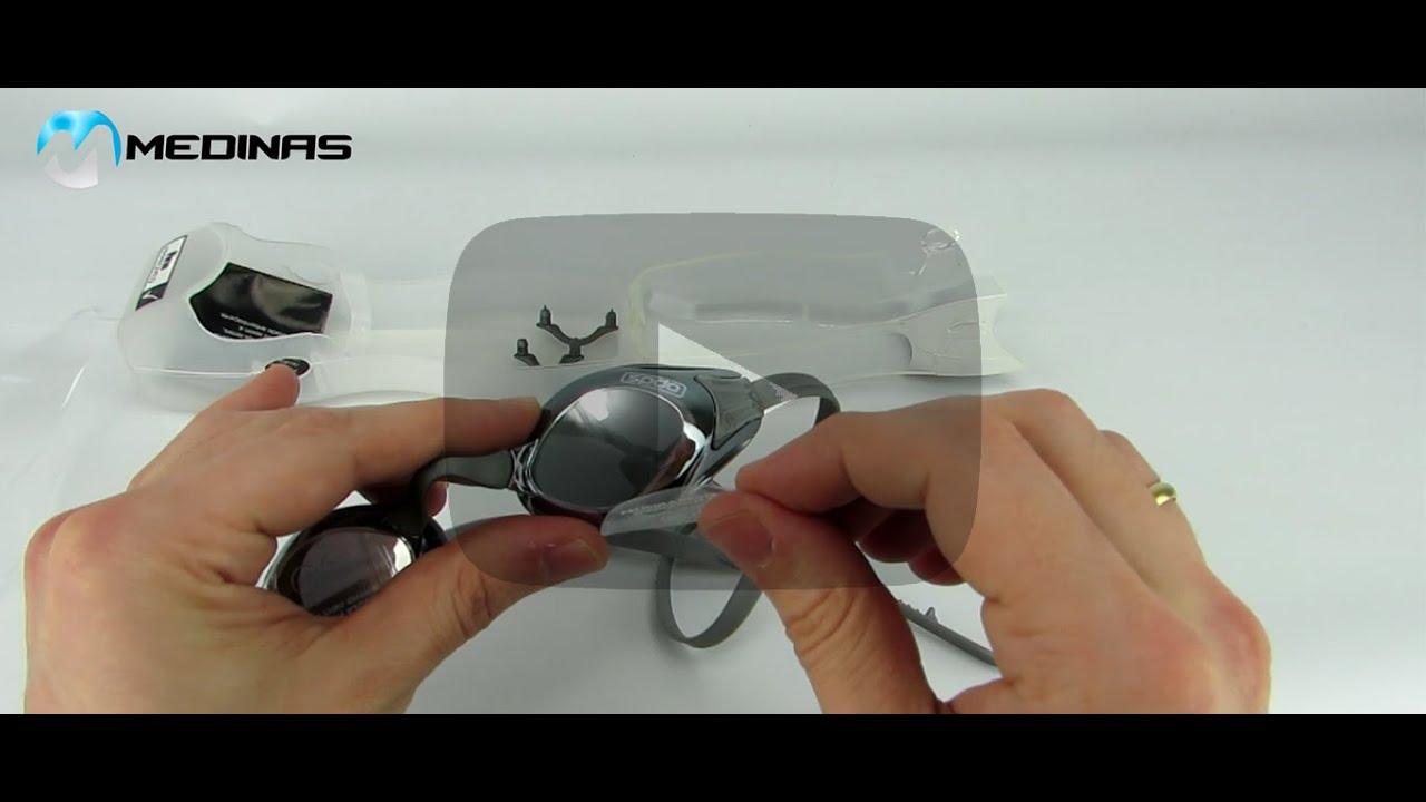 Óculos de Natação Speedo Aquashark - Análise Rápida - YouTube a9bd396730