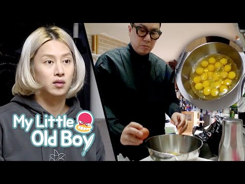 HeeChul Can't Go Until They've Finished Everything In The Refrigerator [My Little Old Boy Ep 183]