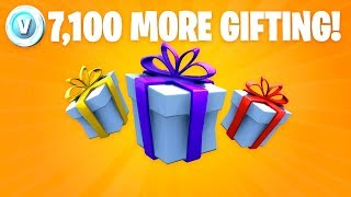 FORTNITE GIFTING TO SUBS AGAIN!!!