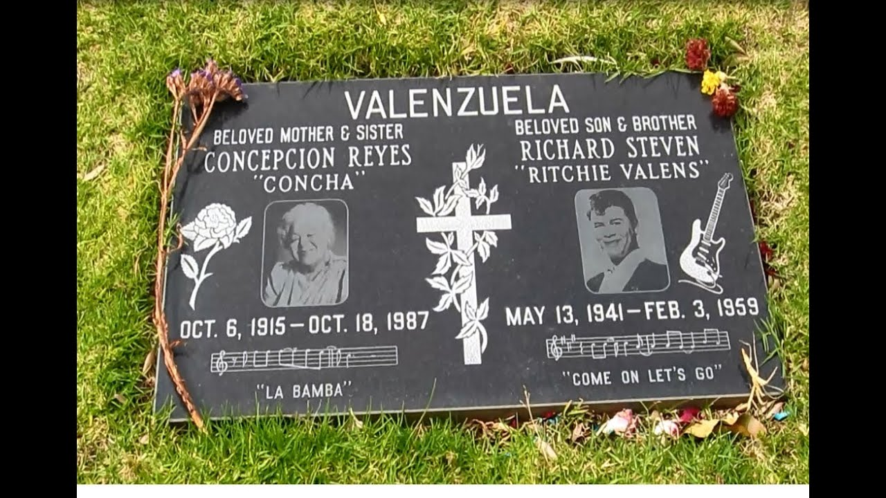 Ritchie Valens Gravesite - YouTube