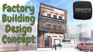 Factory Concept Design / Commercial / Shop / Office Design Best Architects in Lucknow