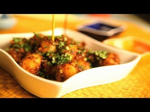 Chilly Mustard Bengali Potatoes By Asha Khatau