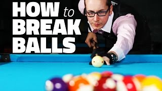 Billiards - Billiards Tutorial: How to Break 8 Ball in Pool