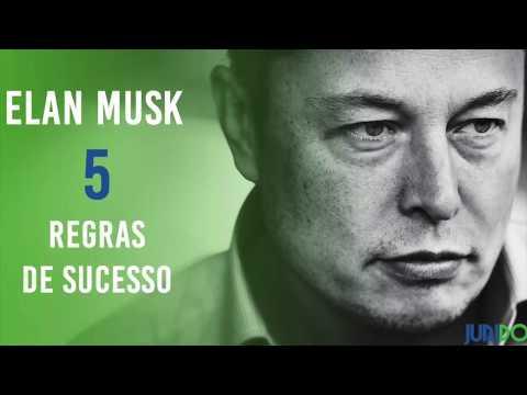 Elon Musk - 5 Regras Sucesso