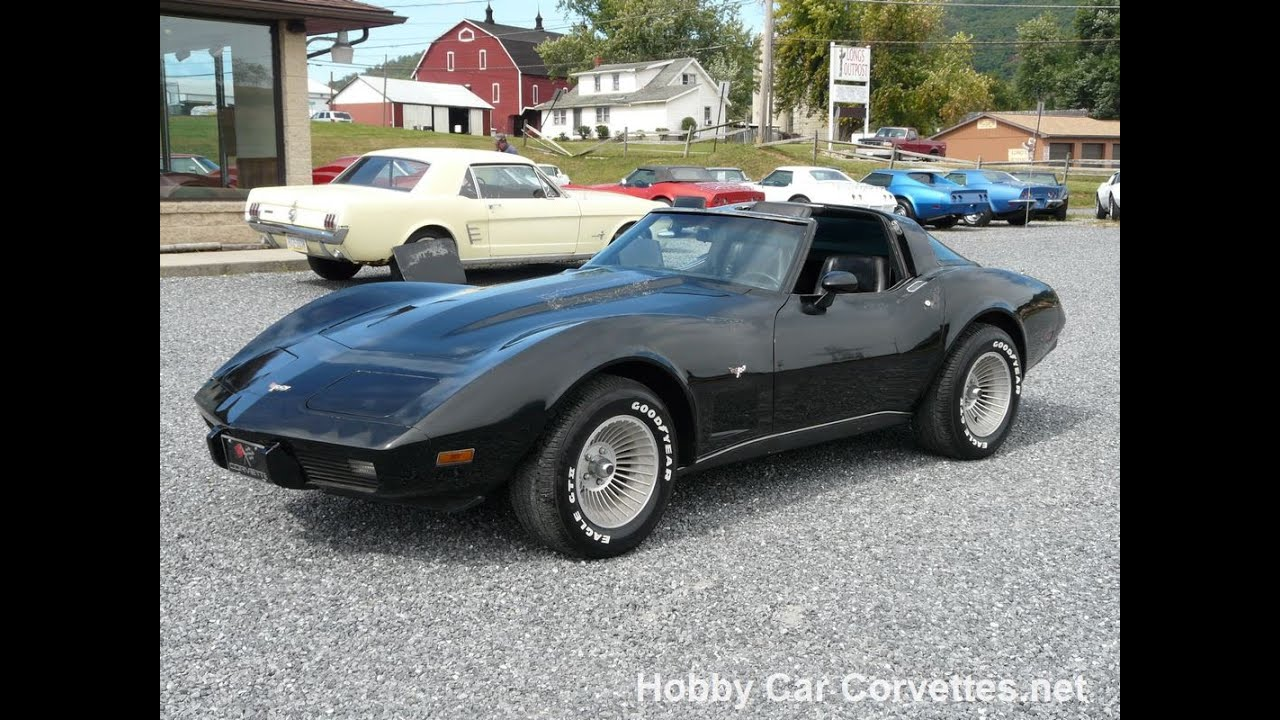 1979 black black corvette 4spd t top for sale youtube. Cars Review. Best American Auto & Cars Review