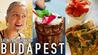 Eating & Drinking EVERYTHING in Budapest