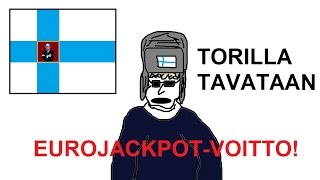 Eurojackpot-voitto