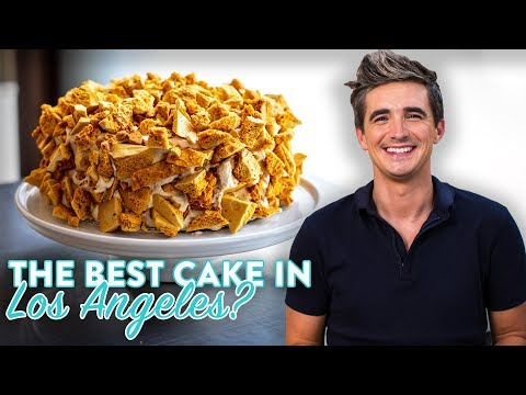 Is this the BEST Cake in LA!? HI-FI Dessert Tour!