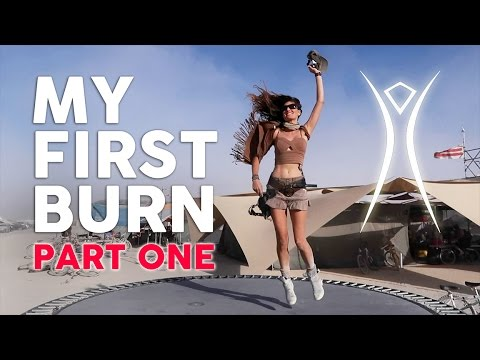 MY FIRST BURNING MAN 2016 // JOURNEY INTO BLACK ROCK CITY - PART I