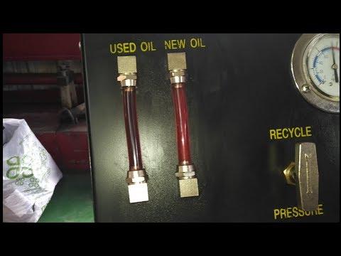 Фото к видео: 6L50, Cadillac - полная замена масла в АКПП, методом замещения!