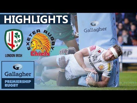 London Irish V Exeter HIGHLIGHTS | Frantic 60+ Point Game At The Madejski | Gallagher Premiership