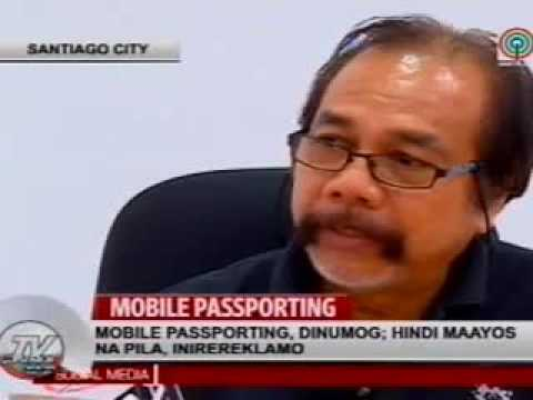 DFA Region 02 Mobile Passport Service in Santiago City