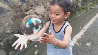 Mainan anak balon tiup lucu | Blowing Ballon for kids toy
