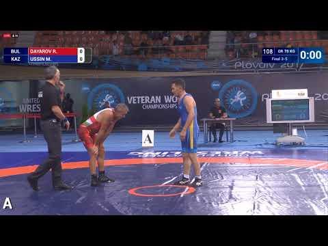 Мухтар Усин, из Кокшетау, завоевал «бронзу» на чемпионате мира по борьбе среди ветеранов в Болгарии