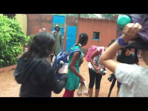 Inondation au collège saint-exupery ouaga