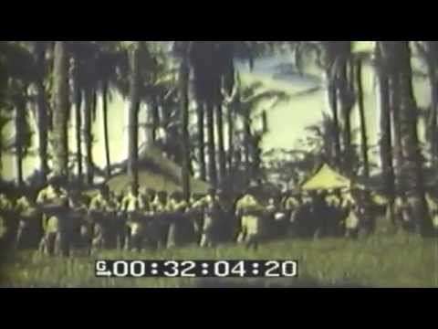 Fiji Troops At Church & Vila Air Strip Damage, 11/05/1943 (full)