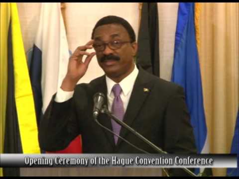 Opening Ceremony of The Hague Convention Conference