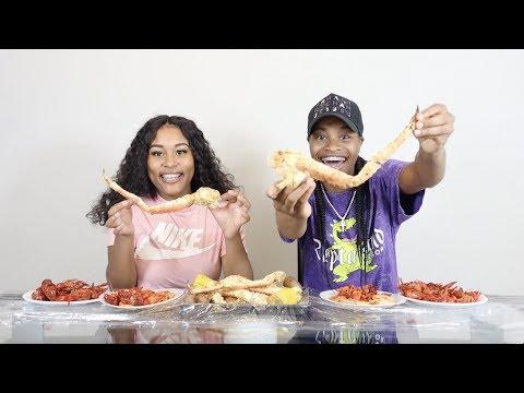 SEAFOOD BOIL MUKBANG!!!🔥 SUPER FUNNY