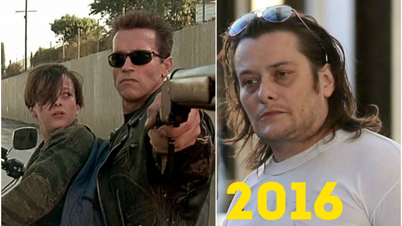 Then And Now: The Cast Of The Terminator 2 - YouTube