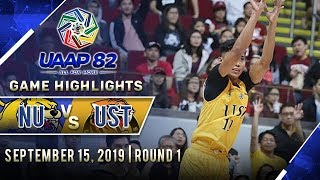 NU vs. UST - September 15, 2019  | Game Highlights | UAAP 82 MB