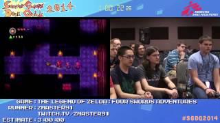 Summer Games Done Quick 2014 - Part 38 - The Legend Of Zelda: Four Swords Adventures