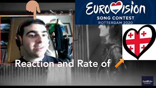 "EUROVISION 2020 | Georgia - Tornike Kipiani ""Take me as I am"" (Reaction and Rate)"