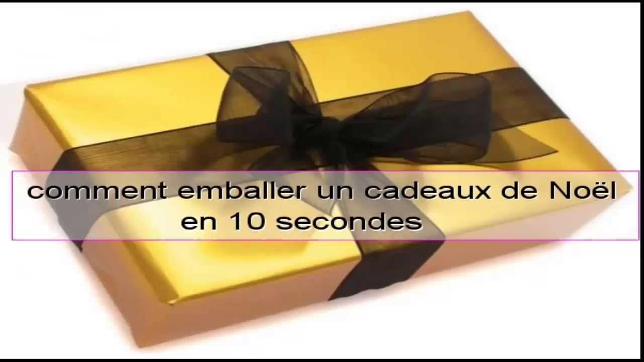 tutoriel   comment emballer un cadeaux de no u00ebl en 10