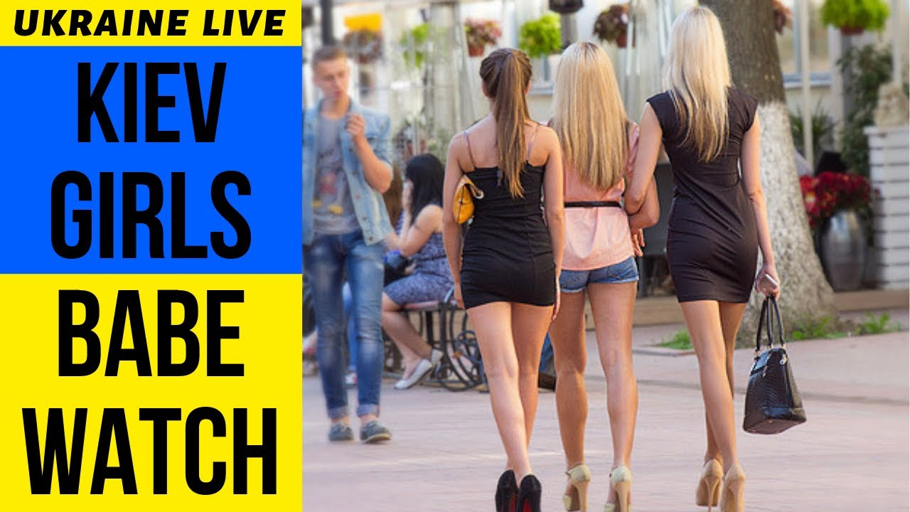 Kiev Ladies Babe Watch LIVE, Khreshchatyk Avenue, Ukraine