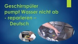 Super E24 Gerät pumpt nicht ab Bosch, Siemens, Neff, Constructa FY52