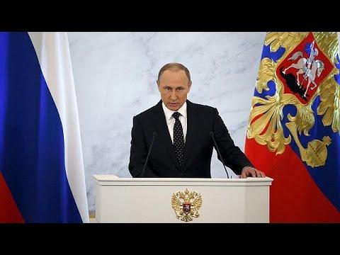 Il discorso di Putin alla nazione: il guerra per la vita