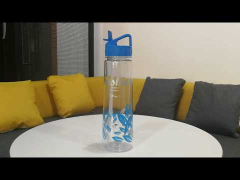 Glass Water Bottle with Straw Lid | Silicone Sleeve | Wide Mouth Opening
