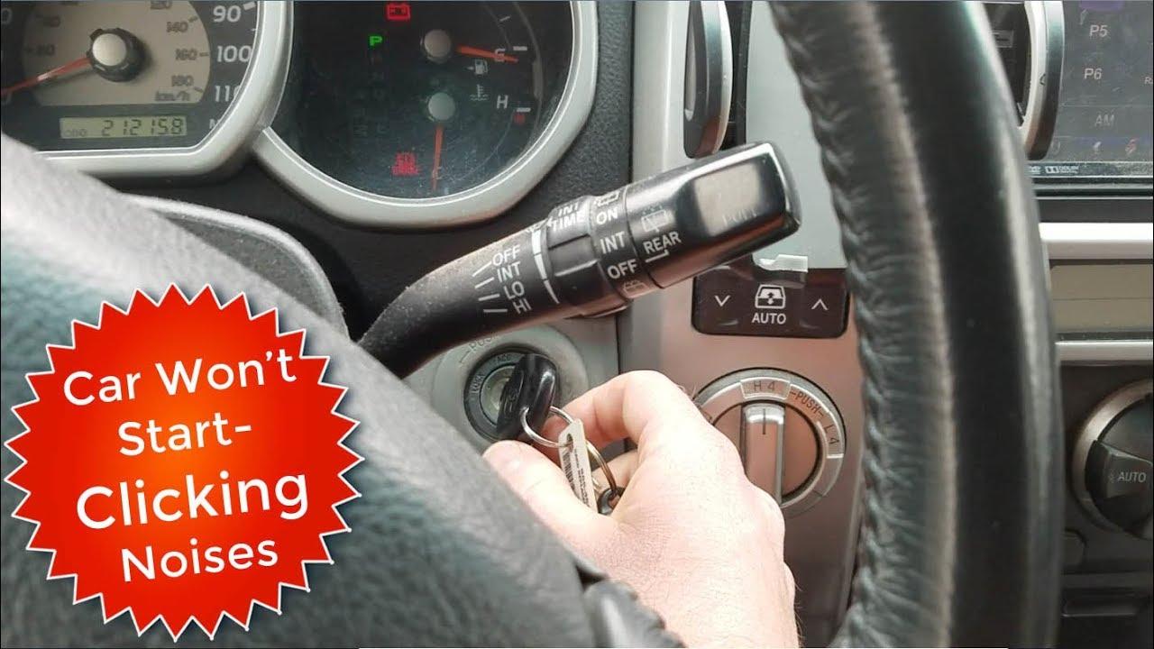 medium resolution of 4runner car won t start just clicking noises fixed