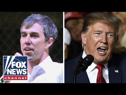 Trump, Beto trade blows at competing El Paso rallies