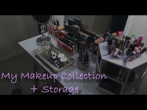 My Makeup Collection + Storage ❥