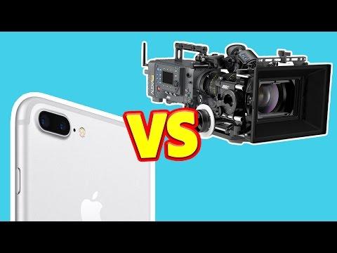 iPhone vs 80.000$ Hollywood Kamera