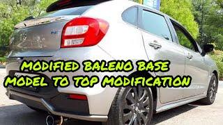 modifying baleno base model to top model in cheap price & bass tube fitting   ft jai auto karol bagh Video