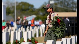 Tampa Legion post leads community on Wreaths Across America Day