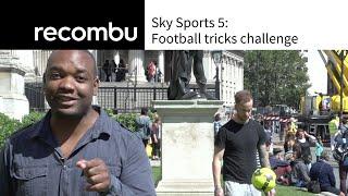 Sky Sports 5: football tricks challenge