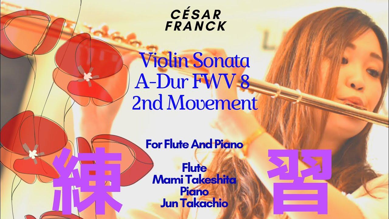 フランク:ヴァイオリン・ソナタ イ長調 FWV 8より 第2楽章