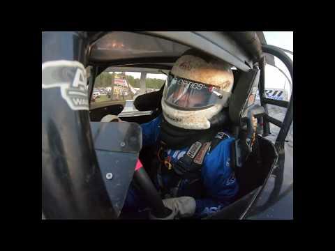 Gavin Landers qualifying at I 30 Speedway 6-15-19