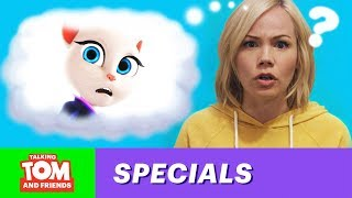 Searching for Angela: Lisa Schwartz Meets the Writers (Behind the Scenes of Talking Tom and Friends)