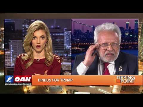 Shalabh Kumar in an interview with Liz Wheeler on the Tipping Point on OAN