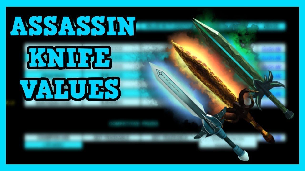 Roblox Assassin Value List 2018 December - assassin value list roblox 2019 march oficial